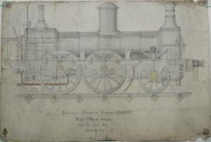 Passenger Locomotive; after conservation
