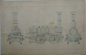 The Queen Locomotive; after conservation