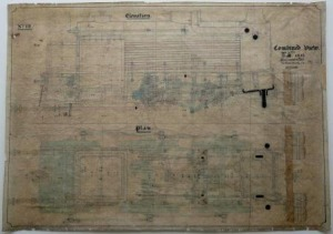 Engineers' Drawing; After Conservation