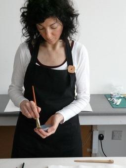 Preparing paste for a tear repair