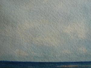 Detail of sky